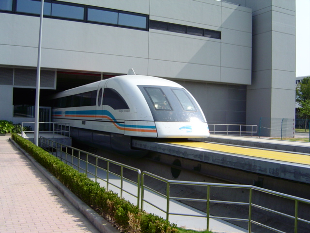 Shanghai is running maglev