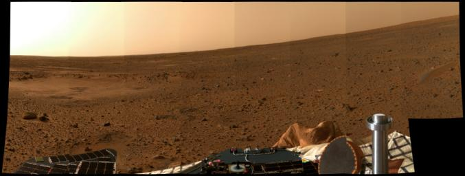 It is expect to explore the surface of Mars in the following days,